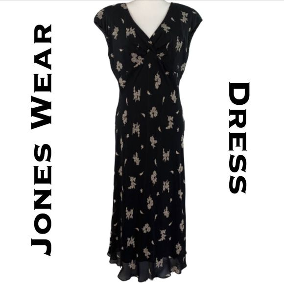 Jones Wear Dresses & Skirts - Jones Wear Dress Full Length Size 10
